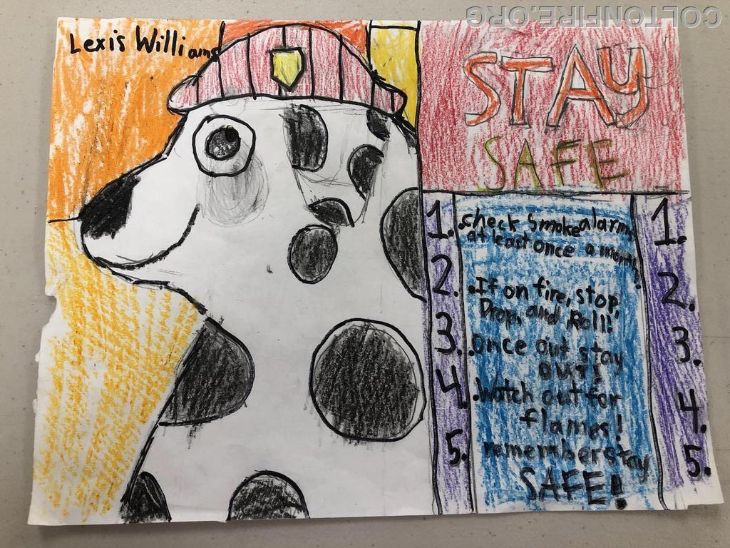 3-5th Grade Second Place: Lexis Williams 3rd Grade