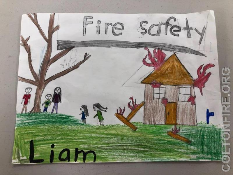 3-5th Grade First Place: Liam Lamora 4th Grade